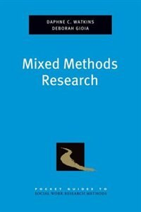 Book Mixed Methods  Research by Daphne Watkins