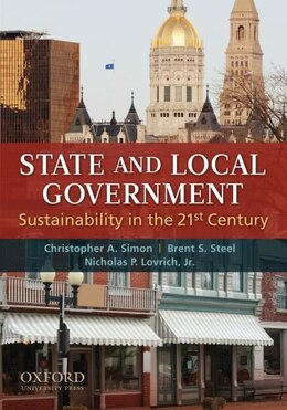 Book State and Local Government: Sustainability in the 21st Century by Christopher A. Simon