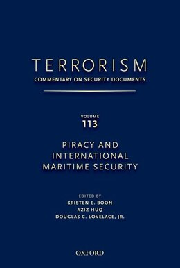 Book Terrorism: Commentary On Security Documents Volume 113 by Douglas Lovelace