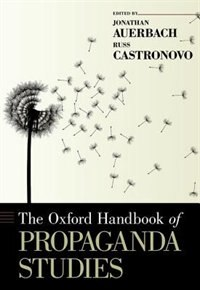 Book The Oxford Handbook of Propaganda Studies by Jonathan Auerbach