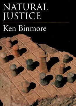 Book Natural Justice by Ken Binmore