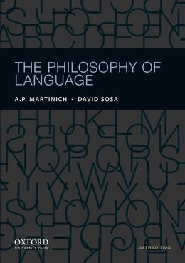 Book The Philosophy of Language by A. P. Martinich