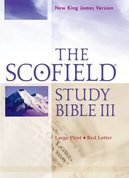 Book The Scofield Study Bible III: New King James Version, Large Print by Oxford