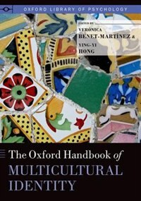 Book [Oxford] Handbook of Multicultural Identity by Veronica Benet-Martinez