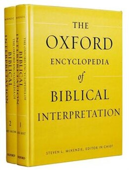 Book Oxford Encyclopedia of Biblical Interpretation by Steven L. McKenzie