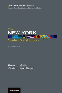 Book The New York State Constitution by Peter J. Galie