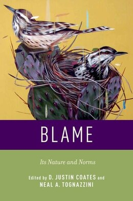 Book Blame: Its Nature and Norms by D. Justin Coates