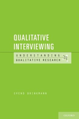 Book Qualitative Interviewing by Svend Brinkmann