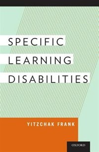 Book Specific Learning Disabilities by Yitzchak Frank
