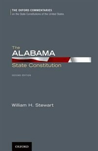 Book The Alabama State Constitution by William H. Stewart
