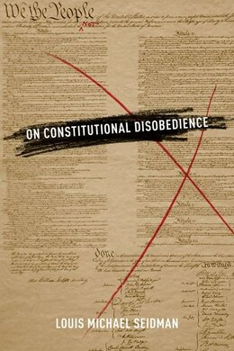 Book On Constitutional Disobedience by Louis Michael Seidman