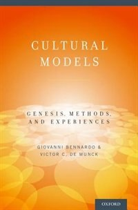 Book Cultural Models: Genesis, Methods, and Experiences by Giovanni Bennardo