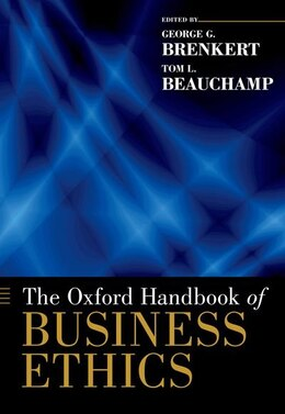 Book The Oxford Handbook of Business Ethics by George G. Brenkert