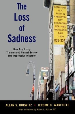 Book The Loss of Sadness by Allan V. Horwitz