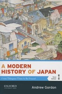 Book A Modern History of Japan: From Tokugawa Times to the Present by Andrew Gordon