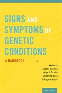Book Signs and Symptoms of Genetic Conditions: A Handbook by Louanne Hudgins