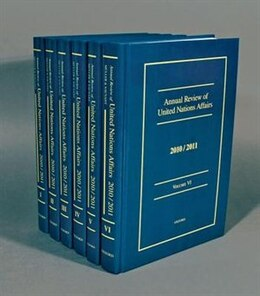Book Annual Review of United Nations Affairs 2010/2011: Volumes I - VI by Joachim Muller