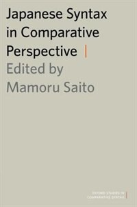 Book Japanese Syntax in Comparative Perspective by Mamoru Saito