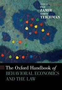 Book The Oxford Handbook of Behavioral Economics and the Law by Eyal Zamir
