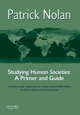 Book Human Societies: An Introduction to Macrosociology Study Guide by Patrick Nolan