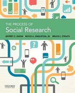 Book The Process of Social Research by Jeffrey C. Dixon