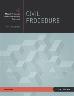 Book Civil Procedure: Model Problems and Outstanding Answers by Scott Dodson
