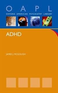 Book ADHD by James McGough