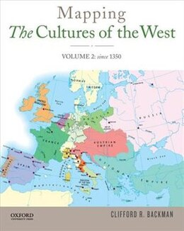 Book Mapping the Cultures of the West, Volume Two by Clifford R. Backman