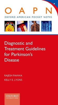 Book Diagnostic and Treatment Guidelines in Parkinsons Disease by Rajesh Pahwa