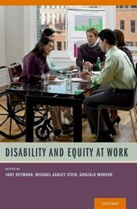 Book Disability and Equity at Work by Jody Heymann