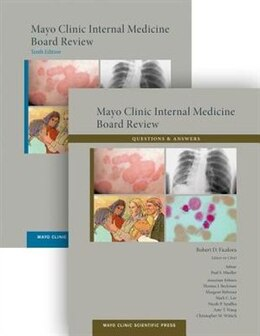 Book Mayo Clinic Internal Medicine Board Review (set) by Robert D. Ficalora