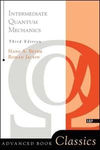 Book Intermediate Quantum Mechanics: Third Edition by Roman Jackiw