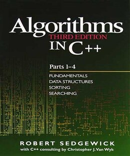 Book Algorithms in C++, Parts 1-4: Fundamentals, Data Structure, Sorting, Searching by Robert Sedgewick