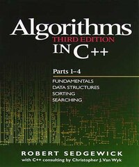 Algorithms in C++, Parts 1-4: Fundamentals, Data Structure, Sorting, Searching