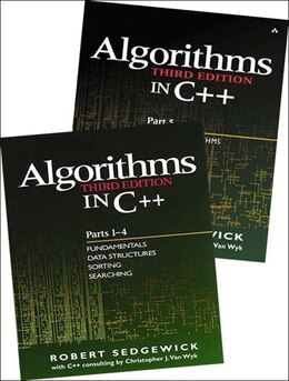 Book Bundle of Algorithms in C++,  Parts 1-5: Fundamentals, Data Structures, Sorting, Searching, and… by Robert Sedgewick