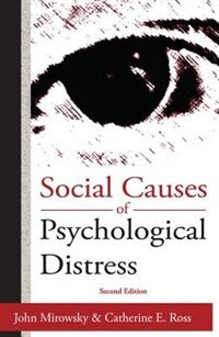 Book Social Causes Of Psychological Distress by Catherine E. Ross