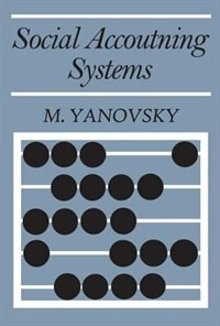 Book Social Accounting Systems by M. Yanovsky