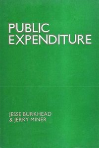 Book Public Expenditure by Jesse Burkhead