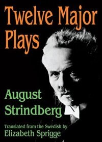 Book Twelve Major Plays by August Strindberg