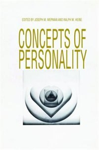 Book Concepts of Personality by Joseph M. Wepman