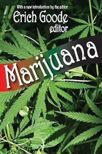 Book Marijuana by Erich Goode