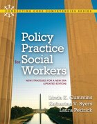 Policy Practice for Social Workers: New Strategies for a New Era (Updated Edition)