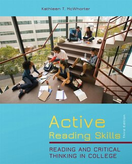 Book Active Reading Skills: Reading and Critical Thinking in College by Kathleen T. Mcwhorter