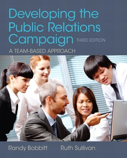 Book Developing The Public Relations Campaign by Randy Bobbitt