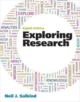 Book Exploring Research by Neil J. Salkind