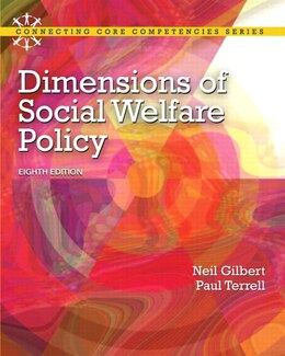 Book Dimensions of Social Welfare Policy by Neil Gilbert