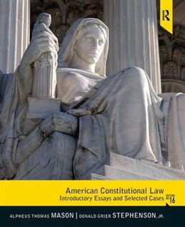 Book American Constitutional Law: Introductory Essays and Selected Cases by Alpheus Thomas Mason