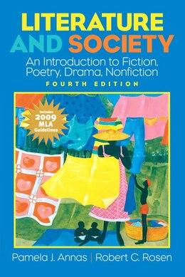 Book Literature and Society: 2009 MLA Update by Pamela J. Annas
