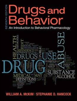 Book Drugs & Behavior by William A. Mckim