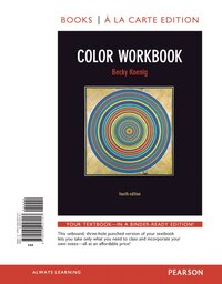 Color Workbook, Books a la Carte Edition